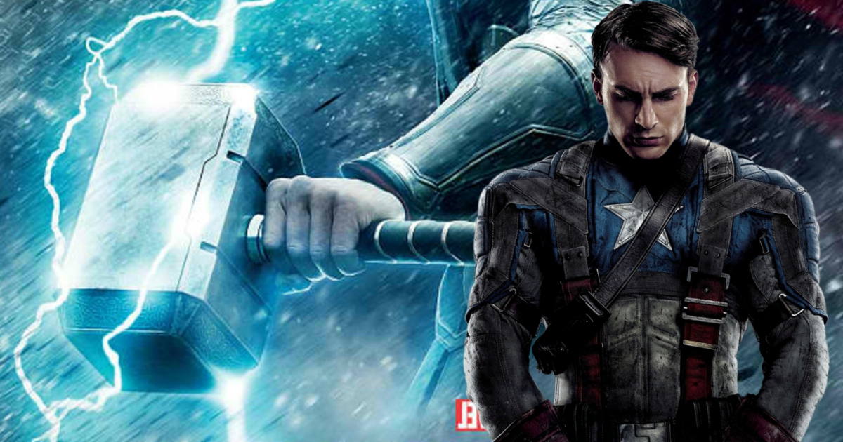 this is why captain america cannot lift thors hammer