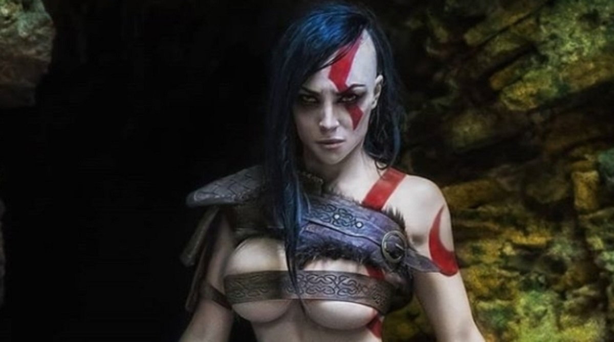 This Cosplayer Has Slayed The Kratos Cosplay In A Very -6444
