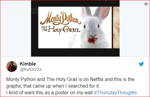 Netflix Adds 'Monty Python &The Holy Grail' To Its List | GEEKS ON