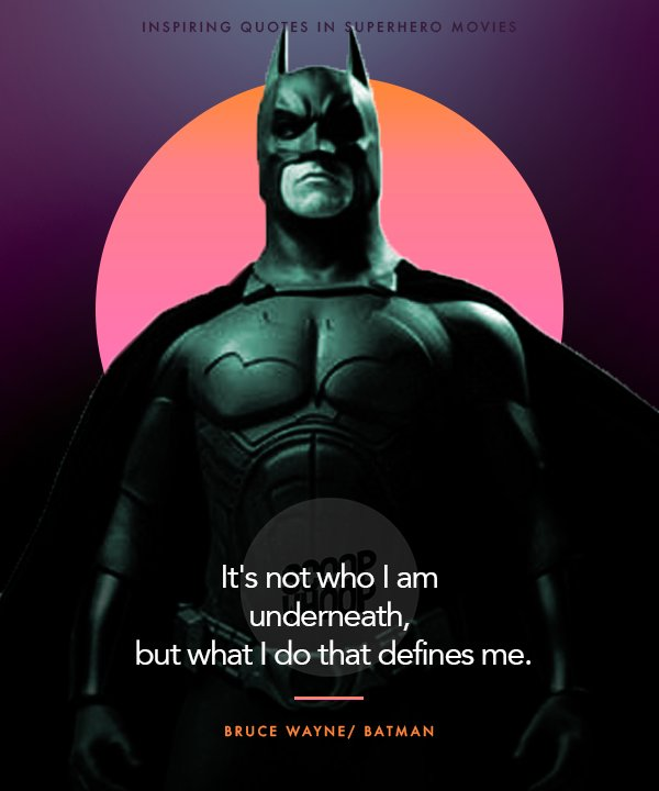 20 Superhero Film Quotes That Will Inspire You To Fly Higher