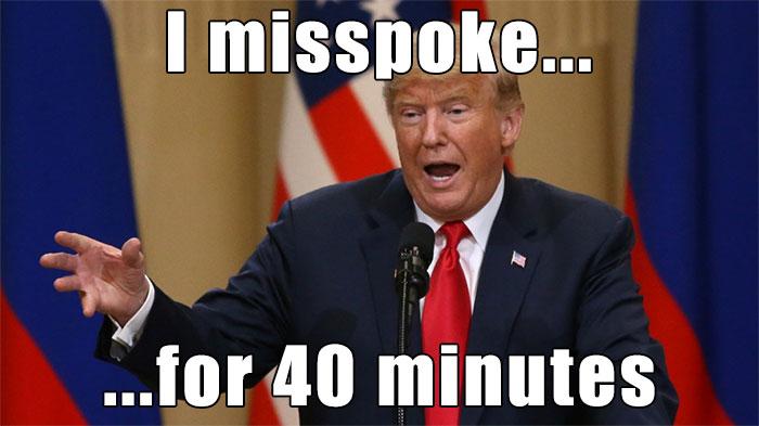 farcical Trump Memes