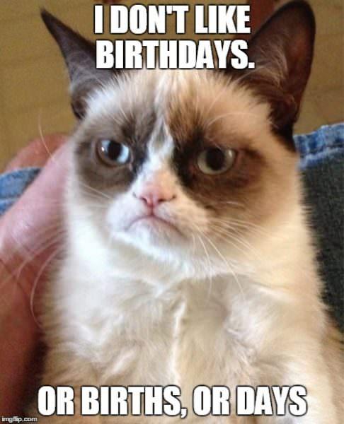 humorous Birthday Memes