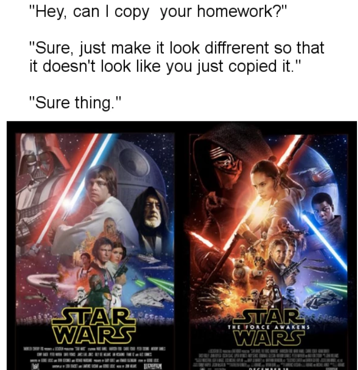 sparkling Star Wars Memes