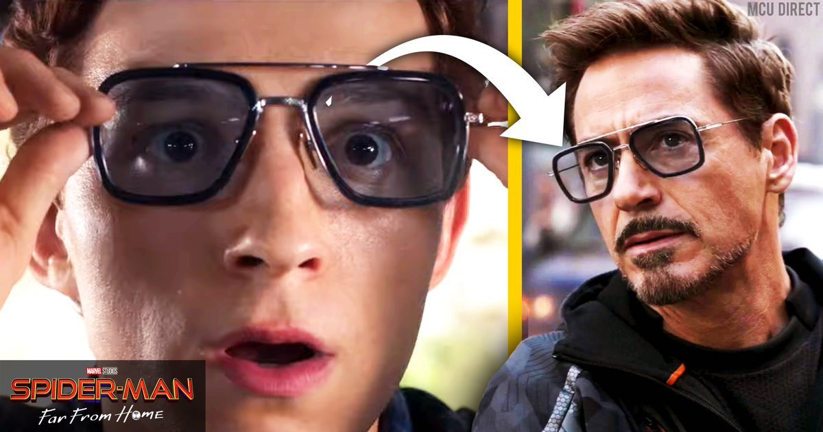 Image result for spider man glasses far from home