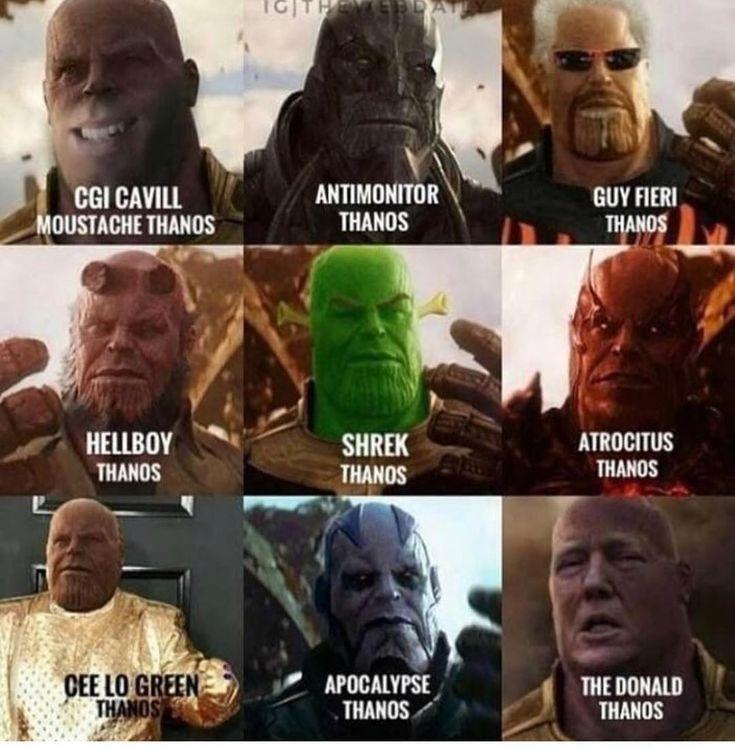 Hilarious Thanos Memes