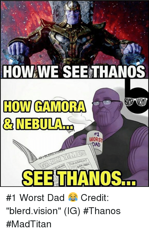 boisterous Thanos Memes