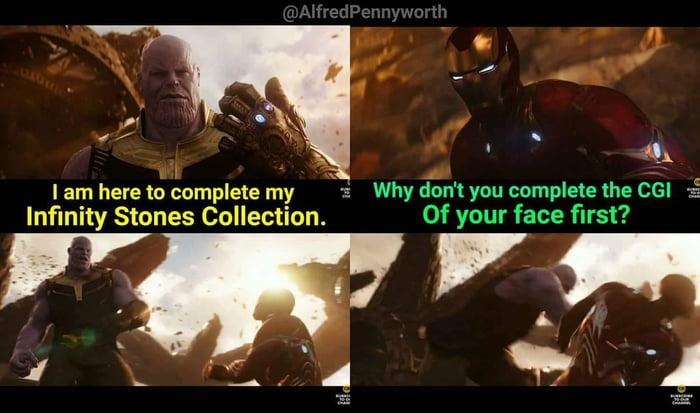 comical Thanos Memes