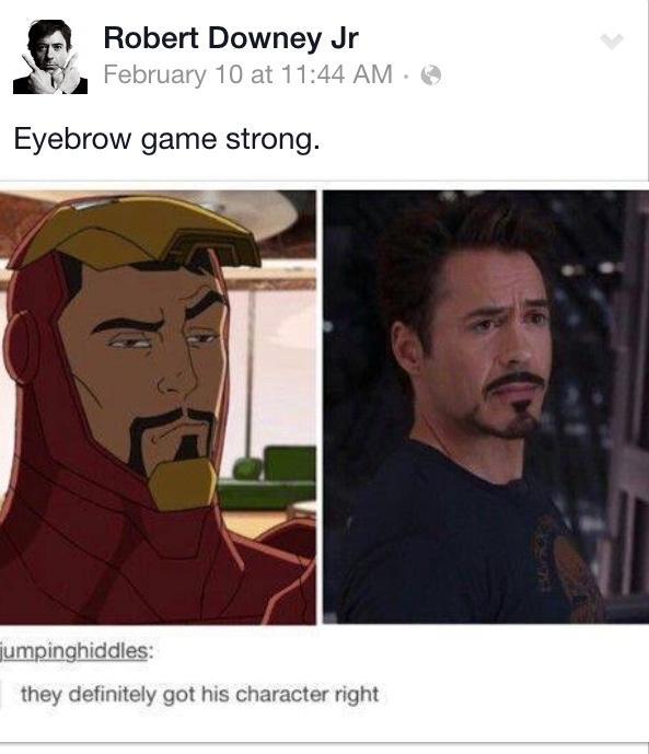 droll, Iron Man Memes