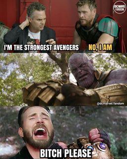 humorous Thanos Memes