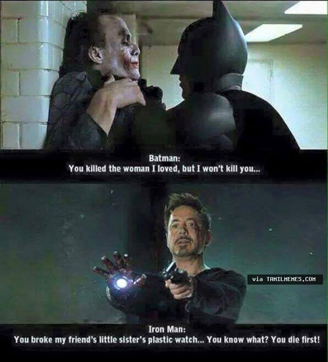 hysterical Iron Man Memes