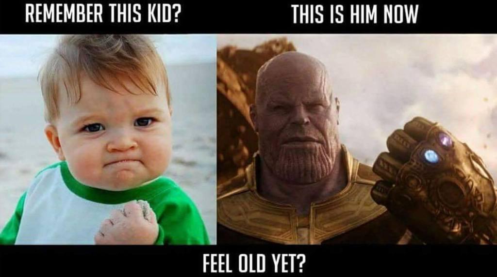 hysterical Thanos Memes
