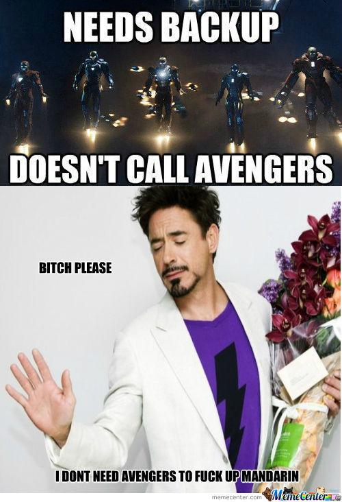 jocular Iron Man Memes