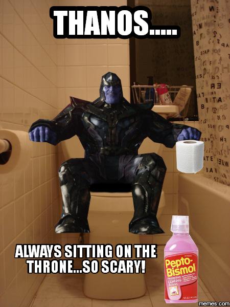 jovial Thanos Memes