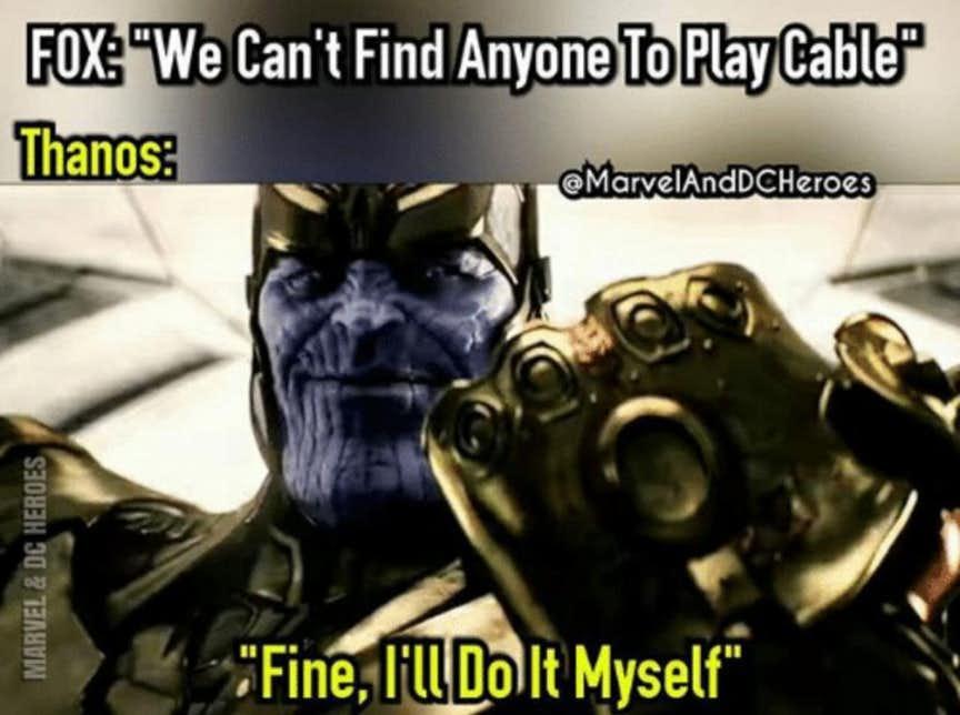 rib-tickling Thanos Memes