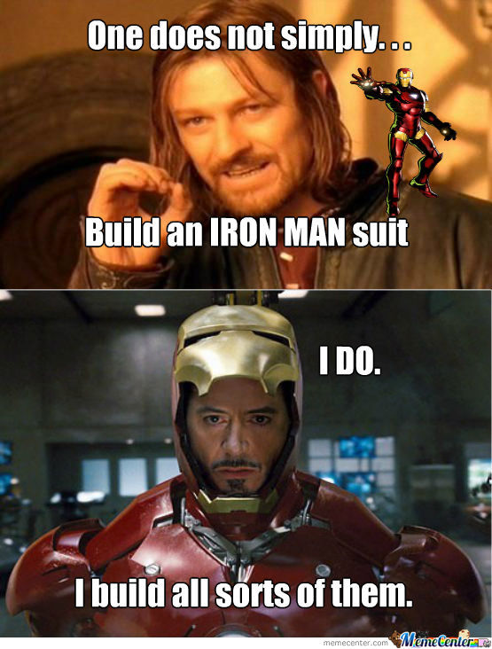 side-splitting Iron Man Memes