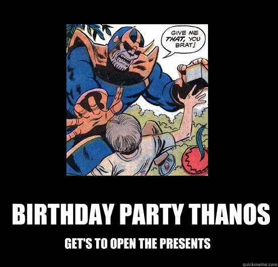 side-splitting Thanos Memes