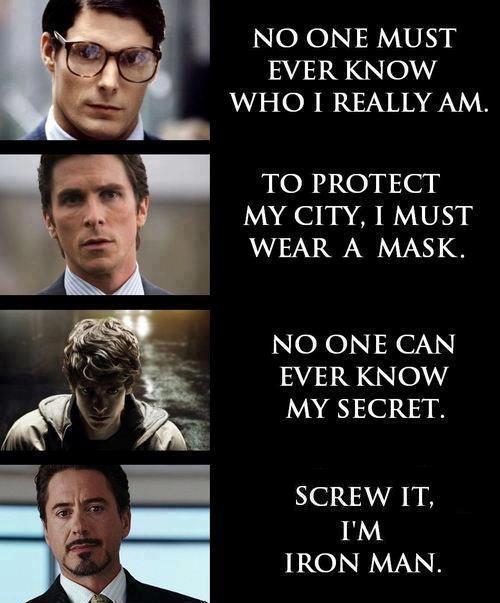 sparkling Iron Man Memes