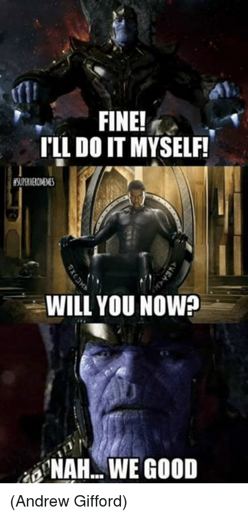 sparkling Thanos Memes