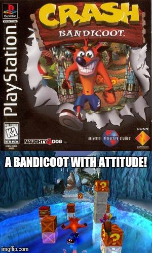 Funny Crash Bandicoot Memes