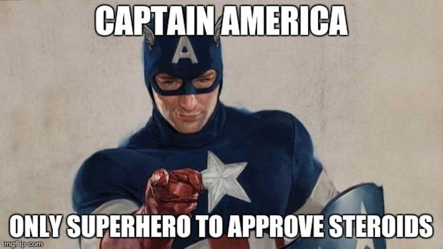 Hilarious Captain America meme