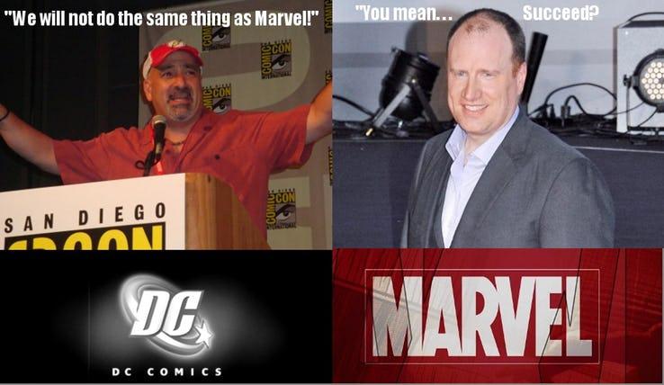 Hilarious DC VS MARVEL Memes