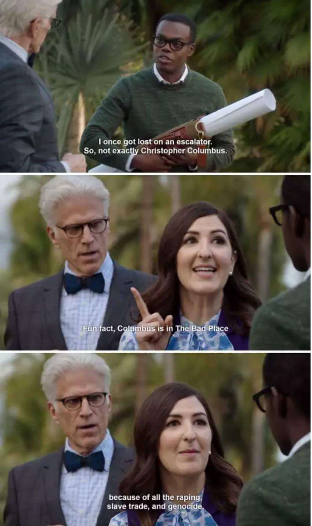Hilarious The good place series memes