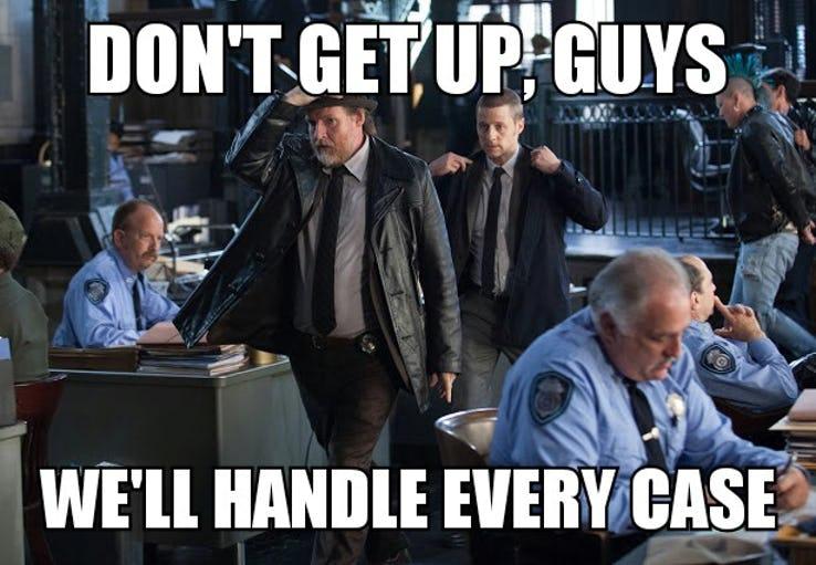 amusing Gotham memes