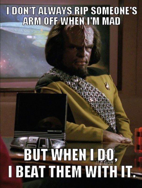 amusing Star Trek Memes