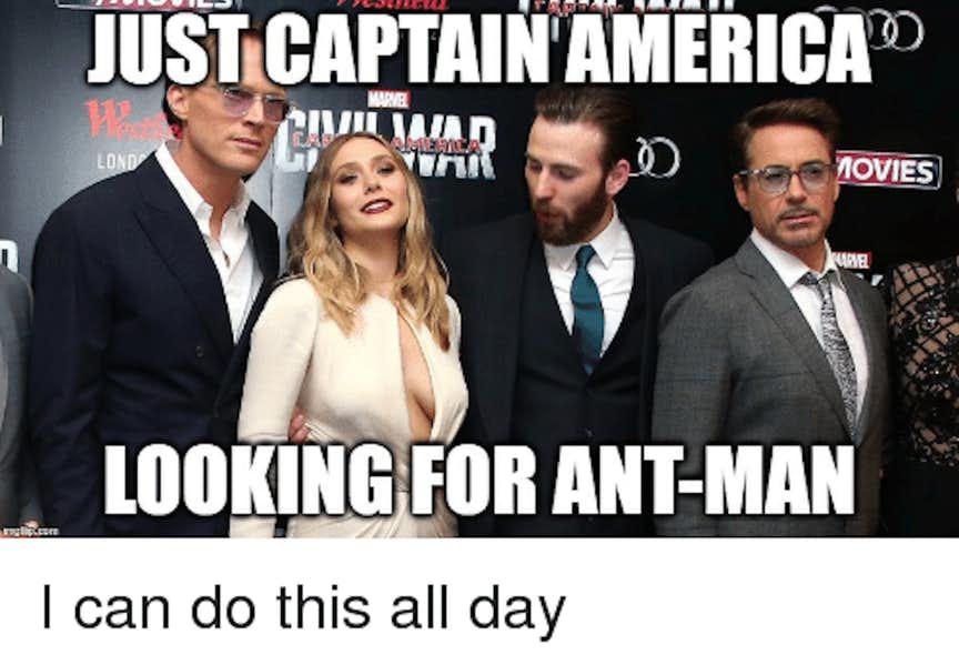animated Captain America meme