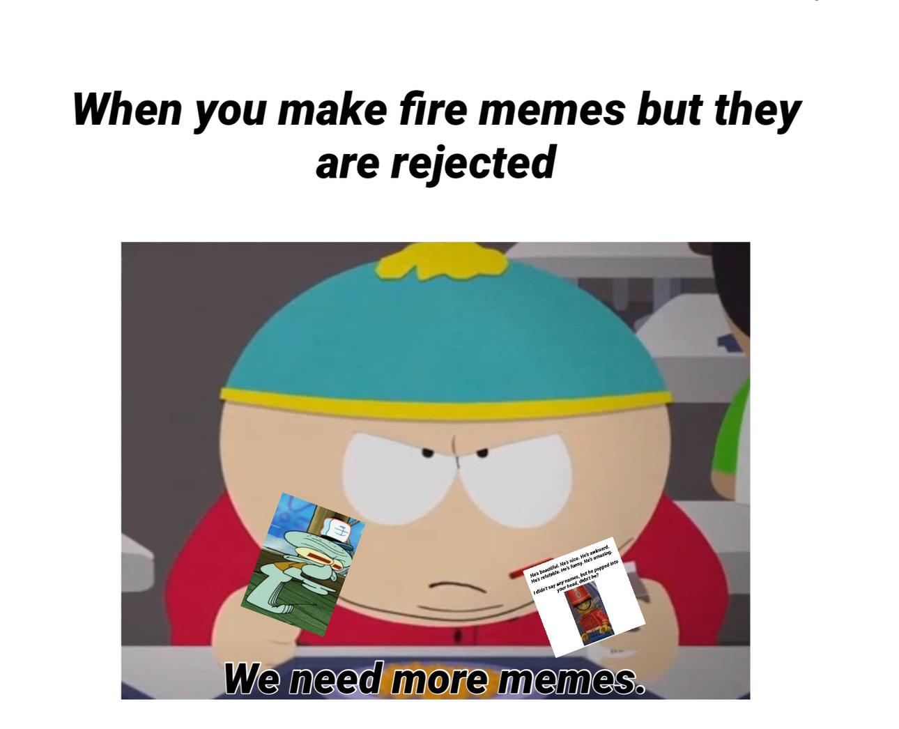 animated South Park Memes