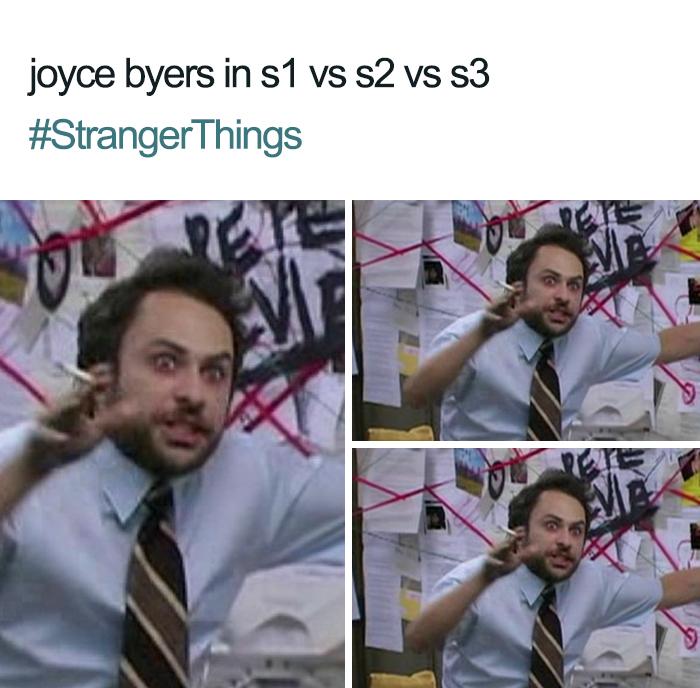 animated Stranger things memes