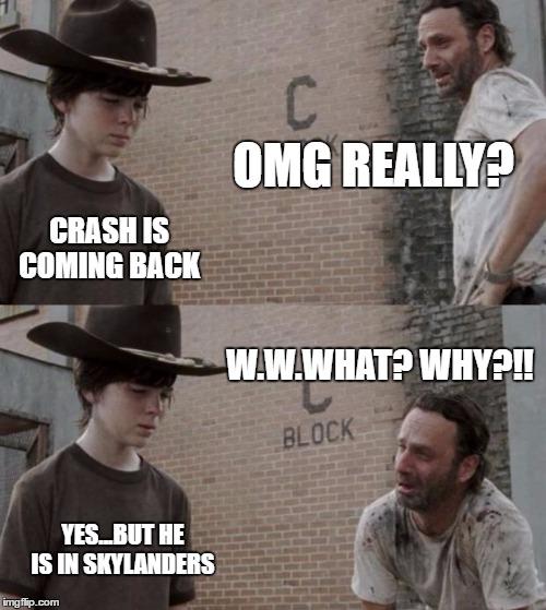 cheerful Crash Bandicoot Memes