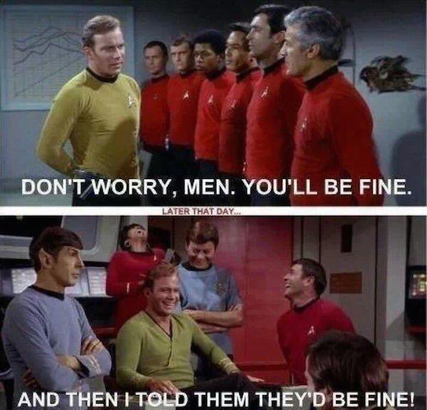 cheerful Star Trek Memes