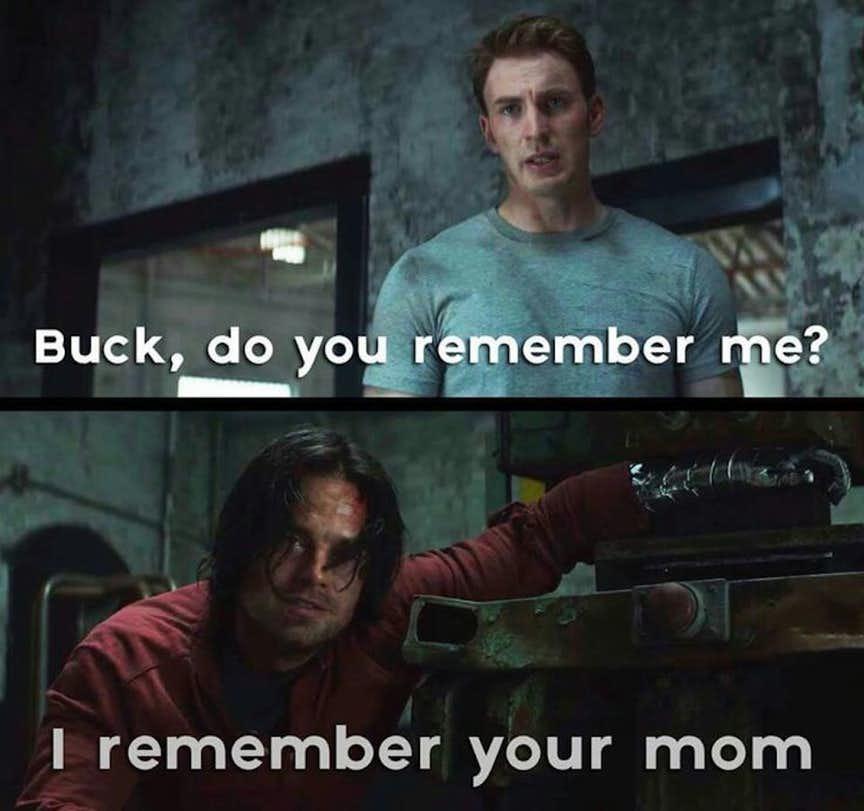 chucklesome Captain America meme