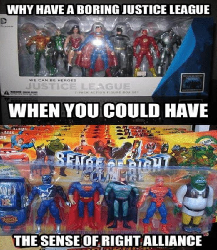 comic DC VS MARVEL Memes