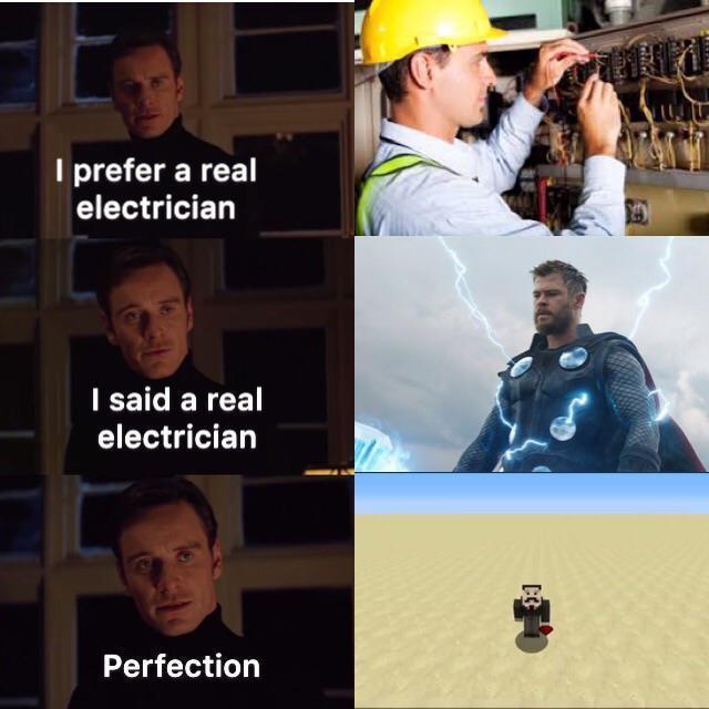 comic Electrician memes