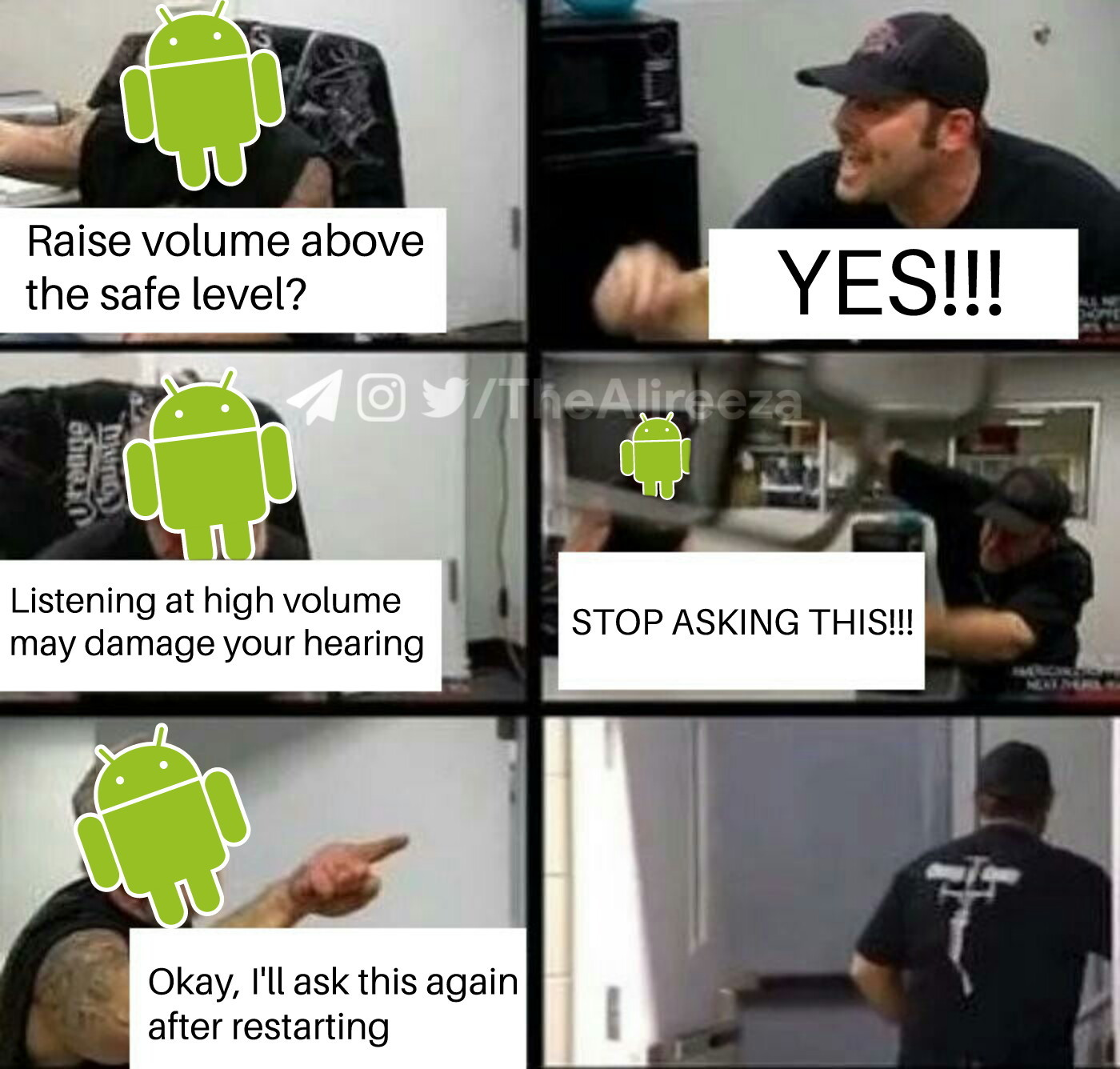 comical Android Memes