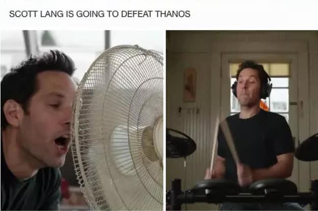 comical Avengers meme