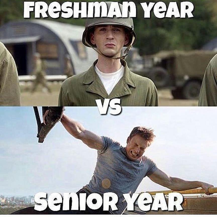 comical Captain America meme