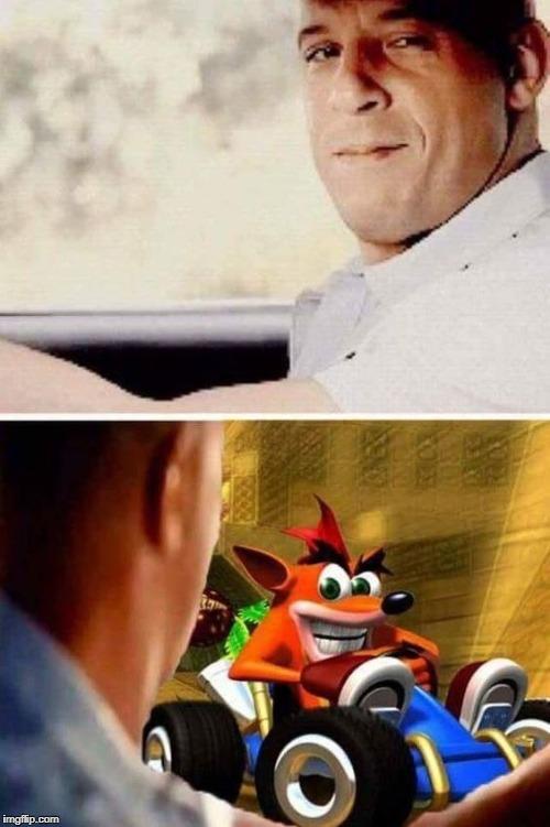 comical Crash Bandicoot Memes
