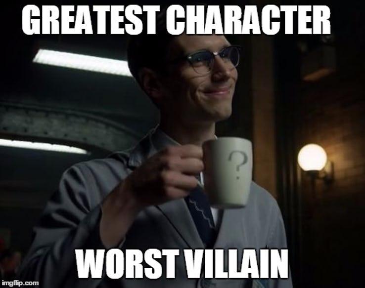 comical Gotham memes