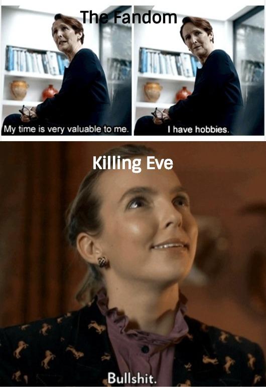 comical Killing eve memes