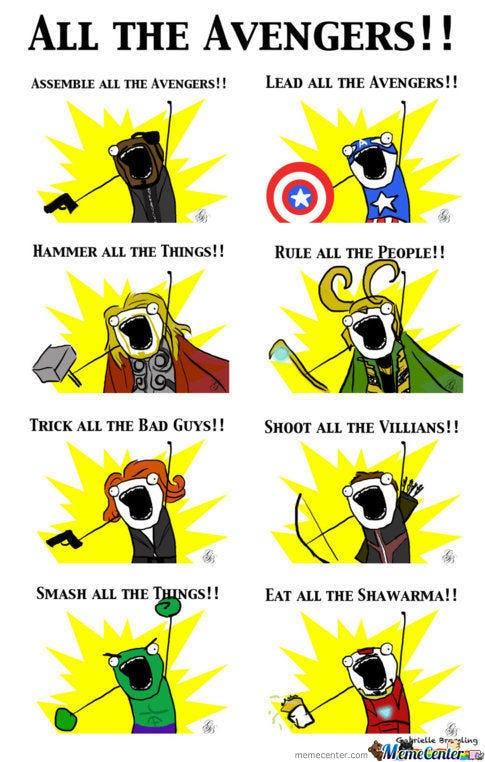 comical MCU Memes