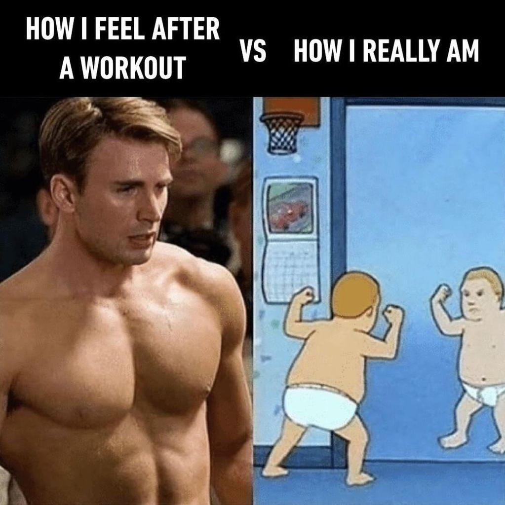 droll, Gym memes