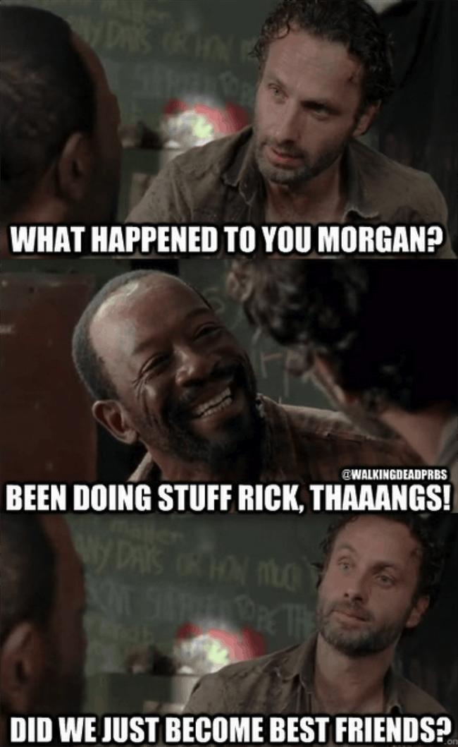 droll, The walking dead memes
