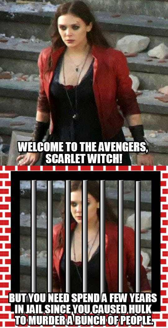 entertaining Avengers meme