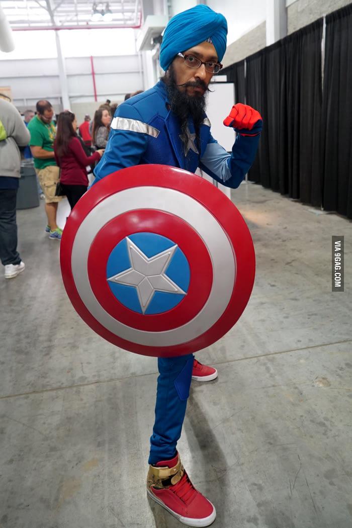 entertaining Captain America meme
