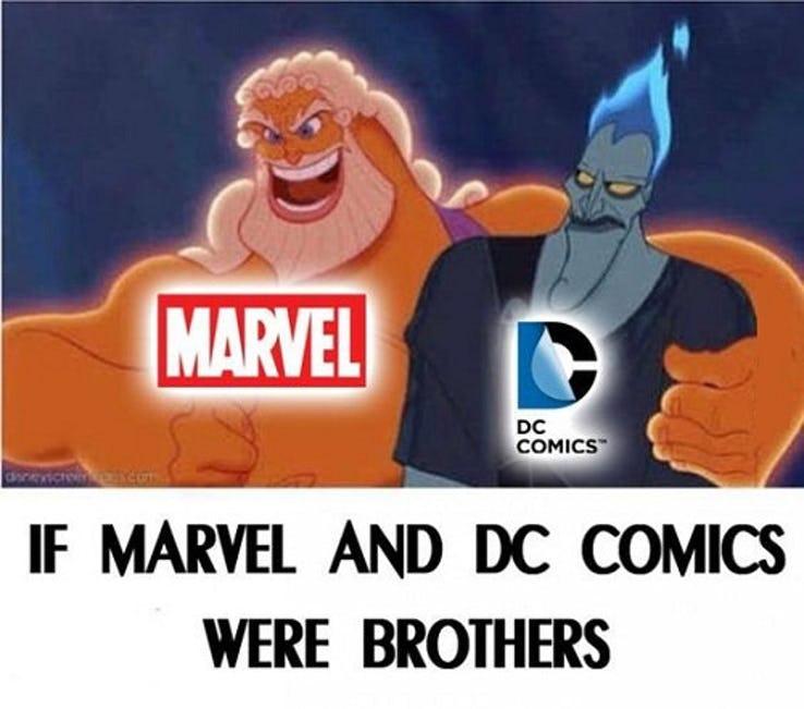 entertaining DC VS MARVEL Memes