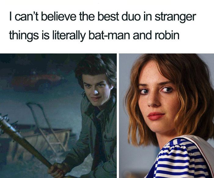 entertaining Stranger things memes