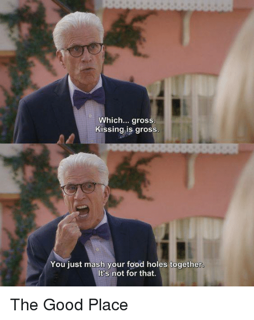 entertaining The good place series memes